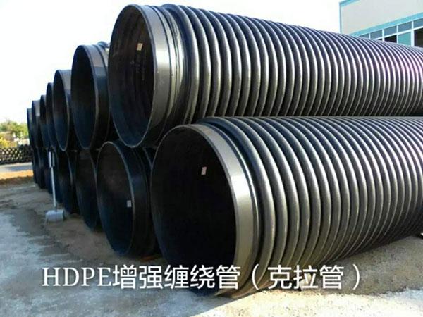 HDPE增強纏繞管